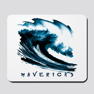 Surfer Slang: Mavericks Mousepad